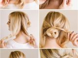 Up Hairstyles Quick Easy 10 Quick and Easy Hairstyles Step by Step