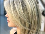 V Cut Blonde Hair 60 Fun and Flattering Medium Hairstyles for Women In 2018