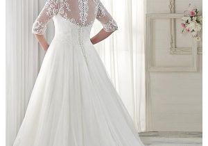 V-neck Wedding Dress Hairstyles Buy Discount Fabulous Tulle V Neck Neckline A Line Plus Size Wedding