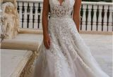 V-neck Wedding Dress Hairstyles Eve Of Milady Boutique Spring 2016 Bridal V Neckline Lace