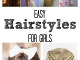 Very Easy Hairstyles for Girls Easy Hairstyles for Girls the Idea Room