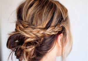 Very Easy Updo Hairstyles 18 Quick and Simple Updo Hairstyles for Medium Hair