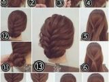 Very Simple Hairstyles for Short Hair Easy Bun Hairstyle for Short Hair Makeup Mania
