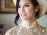 Vietnamese Wedding Hairstyles Best 25 Ao Dai Wedding Ideas On Pinterest
