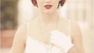 Vintage Wedding Hairstyles for Short Hair Short Bridal Hairstyles 2013