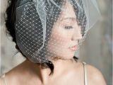 Vintage Wedding Hairstyles with Birdcage Veil Hairstyles for the Birdcage Veils