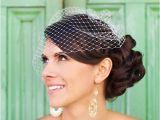 Vintage Wedding Hairstyles with Birdcage Veil Vintage Wedding Hairstyles with Birdcage Veil