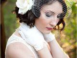 Vintage Wedding Hairstyles with Birdcage Veil Wedding Hairstyles for Women with Short Hair Women