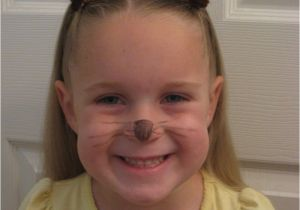 Wacky Girl Hairstyles Cat Ears Using Your Own Hair Kids Hair Pinterest