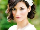 Wedding Day Hairstyles for Short Hair 48 Chic Wedding Hairstyles for Short Hair