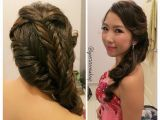 Wedding Dinner Hairstyle Wedding Dinner Makeup & Hairdo Charming Princess