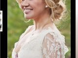 Wedding G Hairstyles Jeweled Headband soft Up Do Country Wedding