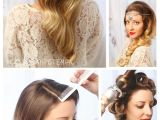 Wedding Guest Hairstyles Diy Guest Post Vintage Inspired Hair From Sarah Potempa