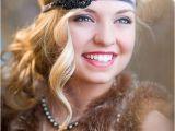 Wedding Hairstyles 1920s Era New Years Eve 1920s Flapper Headpiece Great Gatsby Headband Art