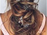 Wedding Hairstyles 2019 Down 151 Best Wedding Hairstyles Images On Pinterest In 2019