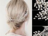 Wedding Hairstyles and Prices Bridal Faux Pearl Wedding Girls Tiara Headdress Headband Hair B