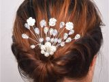 Wedding Hairstyles and Prices Women Girl Hairpin Bridal Wedding Barrette Flower Rhinestones