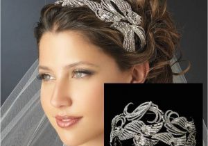Wedding Hairstyles Art Deco Art Deco Bon Bon Swirl Wedding Headband Bd085 £275 00