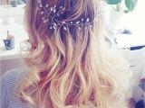 Wedding Hairstyles Blonde Long Hair Takie Cudowności Się Robią Dziś Ozdoba Od Noviablanca Weddinghair