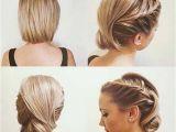 Wedding Hairstyles Bob Length Hair Trubridal Wedding Blog