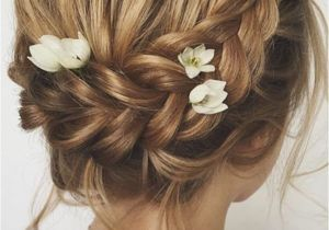 Wedding Hairstyles Brunette 24 Chic Wedding Hairstyles for Short Hair Hair