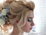 Wedding Hairstyles Buns Videos Bridal Updo Wedding Hairstyle Prom Hairstyle Curly Look Long Hair