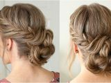 Wedding Hairstyles Buns Videos Fishtail French Braid Double Bun Hair