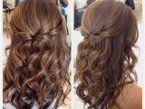 Wedding Hairstyles Down Straight Half Up Half Down Hairstyles Straight Hair Lovely Wedding