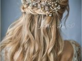Wedding Hairstyles Down with Headband 2017 Trending Wedding Hairstyles Best & Dreamiest Bridal Hairdos