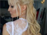 Wedding Hairstyles Down with Headband Half Up Half Down Wedding Hairstyles – 50 Stylish Ideas for Brides