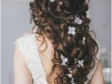 Wedding Hairstyles Etsy Wedding Boho 2019 Flowers Hair Vine Rustic Bridal Hair Crystal Vine