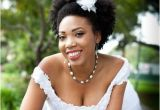 Wedding Hairstyles for African American Brides with Natural Hair African Bridal Hairstyles