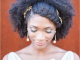 Wedding Hairstyles for Afro Hair 7 Superb Natural Hair Bridal Hairstyles for Summer Weddings