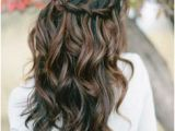 Wedding Hairstyles for Long Hair Down Curly 39 Half Up Half Down Hairstyles to Make You Look Perfecta