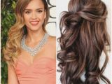 Wedding Hairstyles for Long Hair Down Curly Bridal Hairstyles Half Up Long Hair Half Up Curly Hairstyles