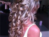 Wedding Hairstyles for Long Hair Down Pinterest Half Updo Hairstyles Haircolors Pinterest
