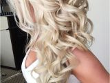 Wedding Hairstyles for Long Hair Down with Flowers 42 Half Up Half Down Wedding Hairstyles Ideas Wedding