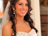 Wedding Hairstyles for Long Hair with Headband Long Wedding Hairstyle with Headband
