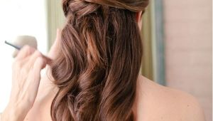 Wedding Hairstyles for Long Straight Hair Half Up Unique Creative and Gorgeous Wedding Hairstyles for Long