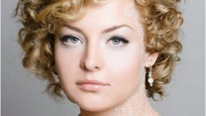 Wedding Hairstyles for Very Curly Hair Short Hairstyles for Weddings