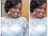 Wedding Hairstyles Ghana Beautiful Ghanaian Bride Hair & Makeup by Beauvhiqbyjenn