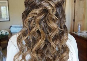 Wedding Hairstyles Half Up Bridesmaids top 20 Half Up Half Down Wedding Hairstyles From Heidi Marie Garrett