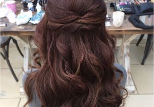 Wedding Hairstyles Half Up Bridesmaids Wedding Hair Half Up Half Down Hair Pinterest