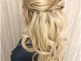 Wedding Hairstyles Half Up Half Down Straight Hair 74 Best Half Up Half Down Wedding Hair Images