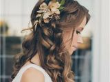 Wedding Hairstyles Half Up Half Down with Flower 15 Gorgeous Half Up Half Down Hairstyles for Your Wedding