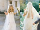 Wedding Hairstyles Half Up Half Down with Veil Long Veil with Hair Down