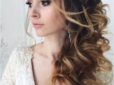 Wedding Hairstyles Half Up Side Pin by Lindsey Marshall On Wedding Board Pinterest