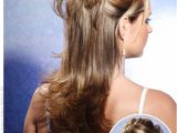 Wedding Hairstyles Half Up with Bangs Half Up Half Down Prom Hairstyles Hair Styles Pinterest