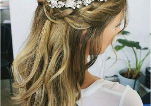 Wedding Hairstyles Half Up with Headband 32 Pretty Half Up Half Down Hairstyles – Partial Updo Wedding
