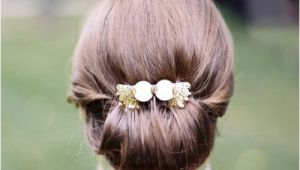 Wedding Hairstyles In A Bun soft & Tender Medium Wedding Hairstyles 2015